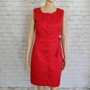 Misha Nonoo Dress 6 Red